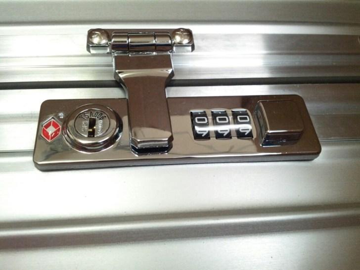 クラシックフライトロック部分 TSA対応