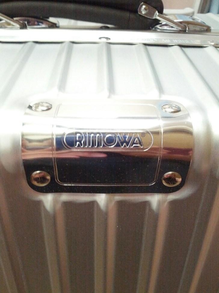 クラシックフライト RIMOWA プレート