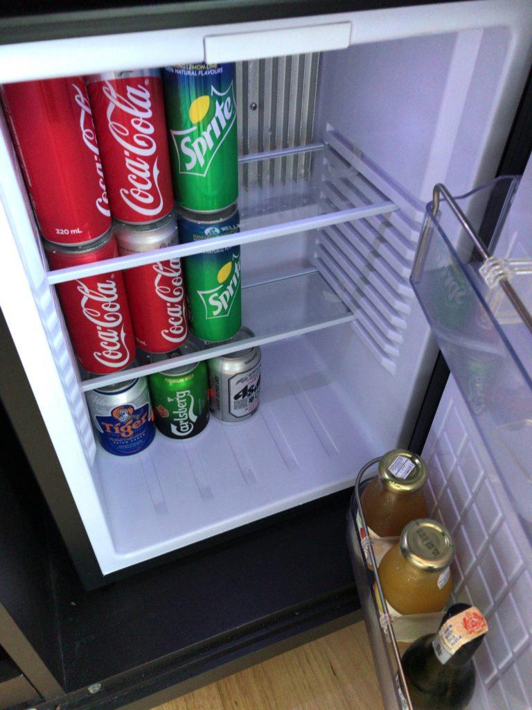 ヒルトンクアラルンプール・エグゼクティブルーム冷蔵庫