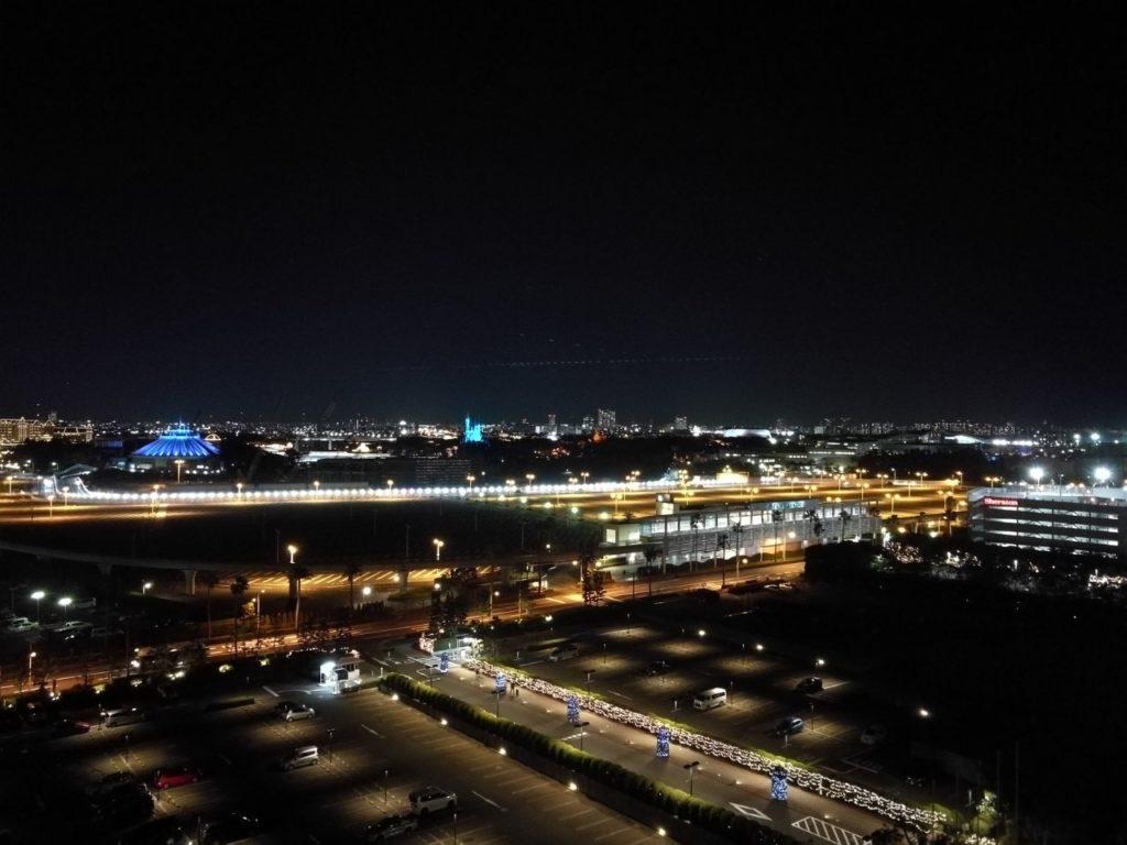 セレブリオパークからの夜景