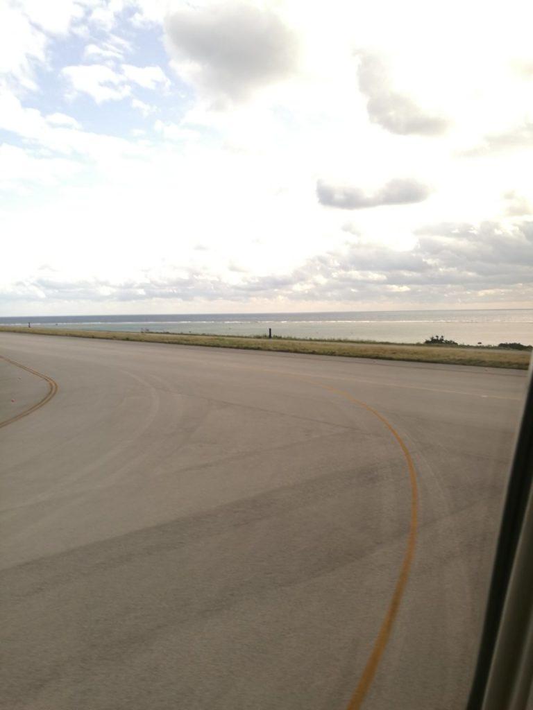 石垣空港到着