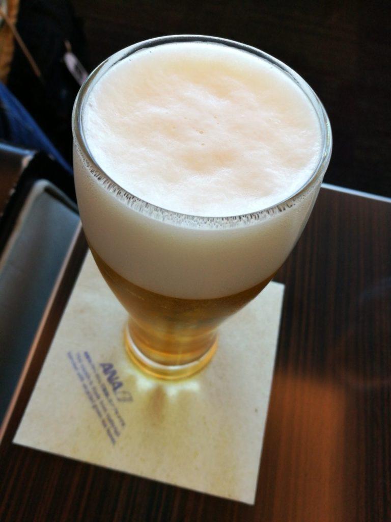 ANAプレミアムラウンジ オリオンビール