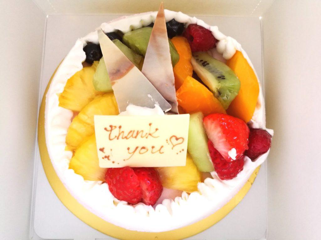 HPCJ特典バースデーケーキ