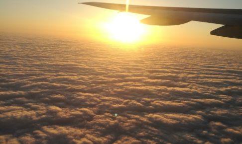 雲海のサンセット