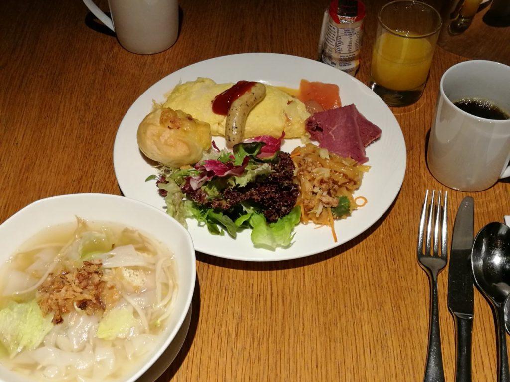 ヒルトンクアラルンプール 朝食