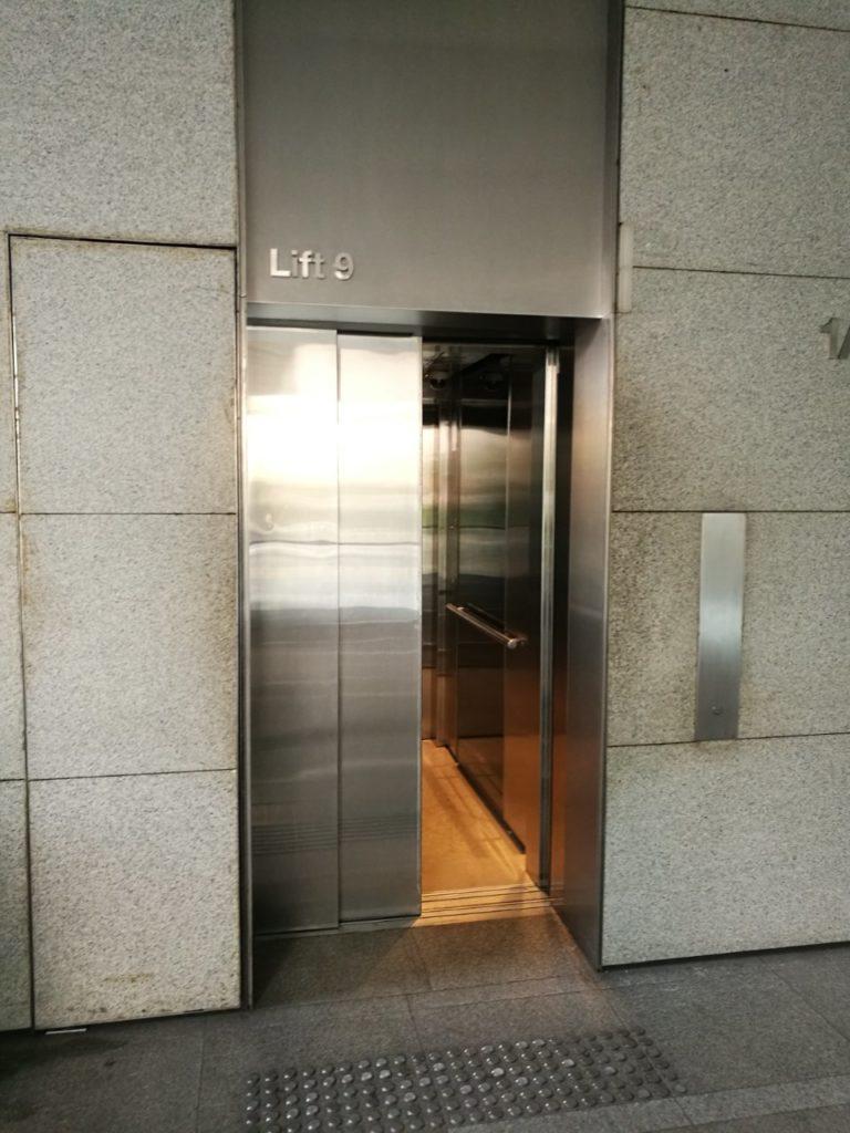 ダブルツリークアラルンプール インターマーク エレベーター3