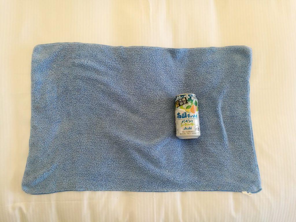 吸水 マイクロファイバー タオル