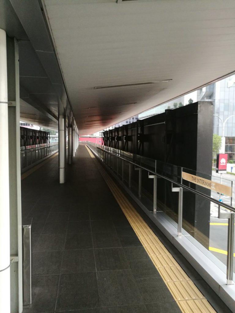 アンパンパーク駅からダブルツリークアラルンプール歩道橋