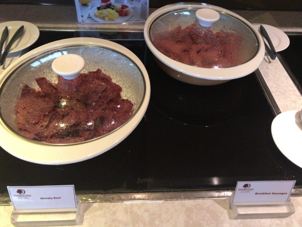 ダブルツリークアラルンプール エグゼクティブラウンジ朝食ホットミール2
