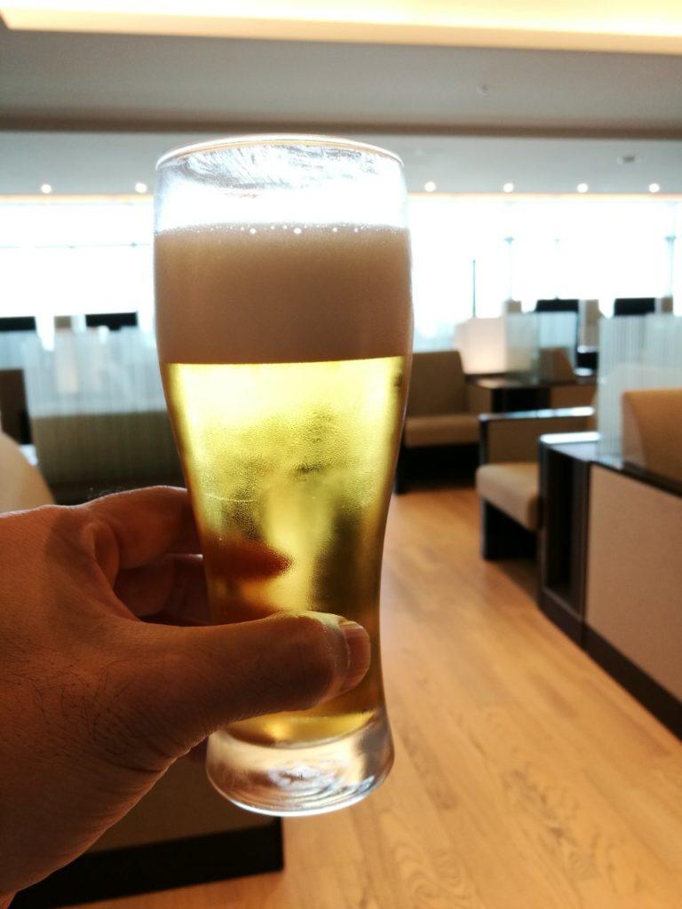 ANAラウンジビール
