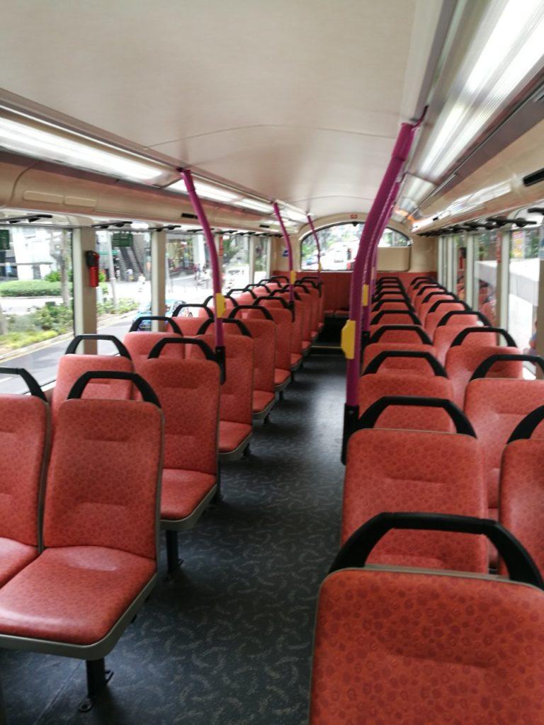 シンガポール2階建てバス1