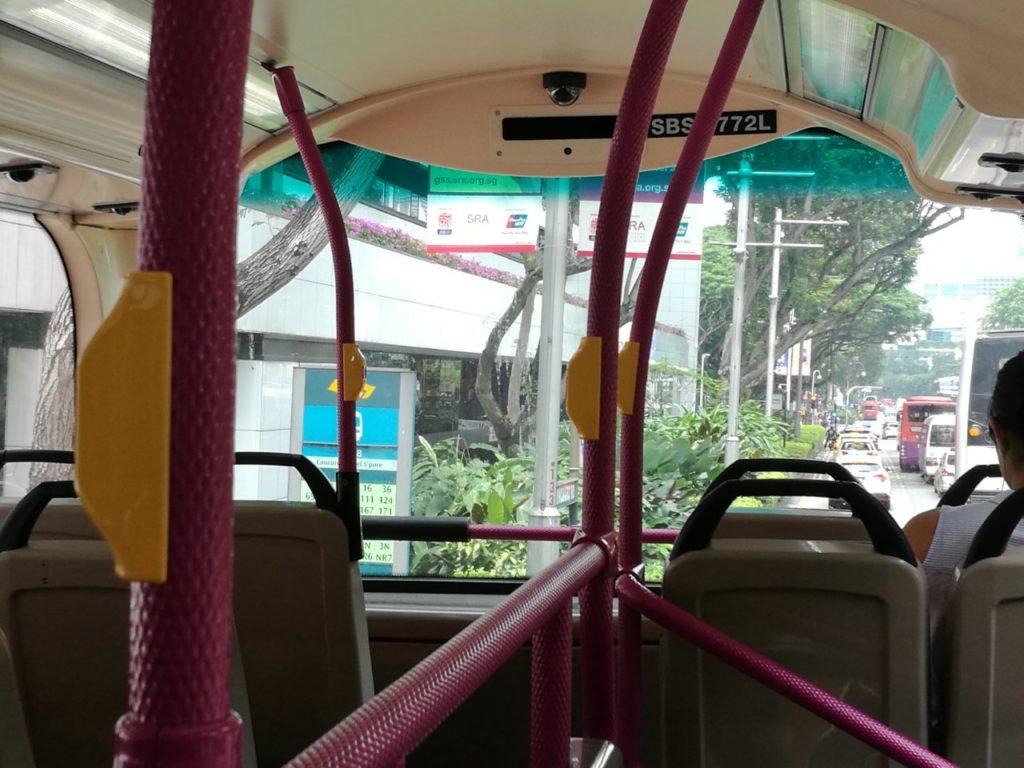 シンガポール2階建てバス2
