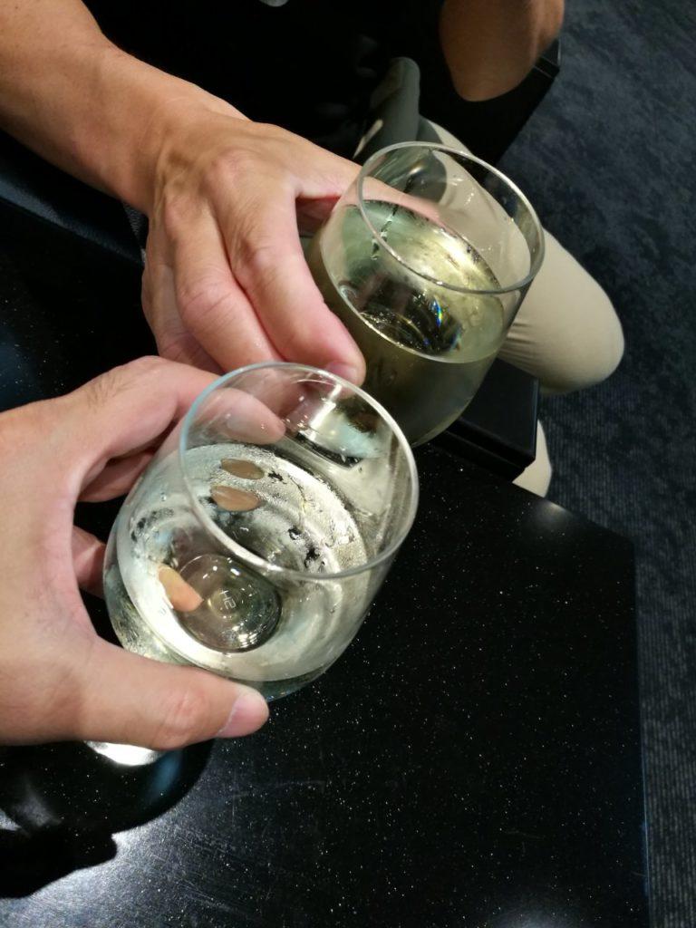 マイラーさんと乾杯