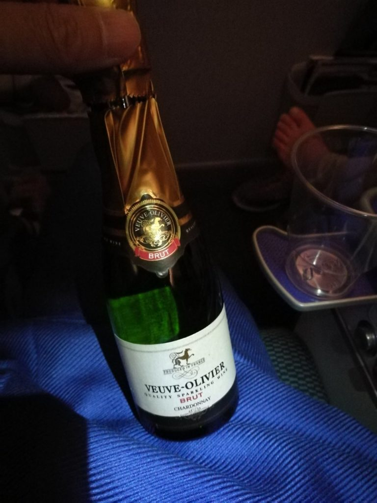 プレミアムエコノミー スパークリングワイン