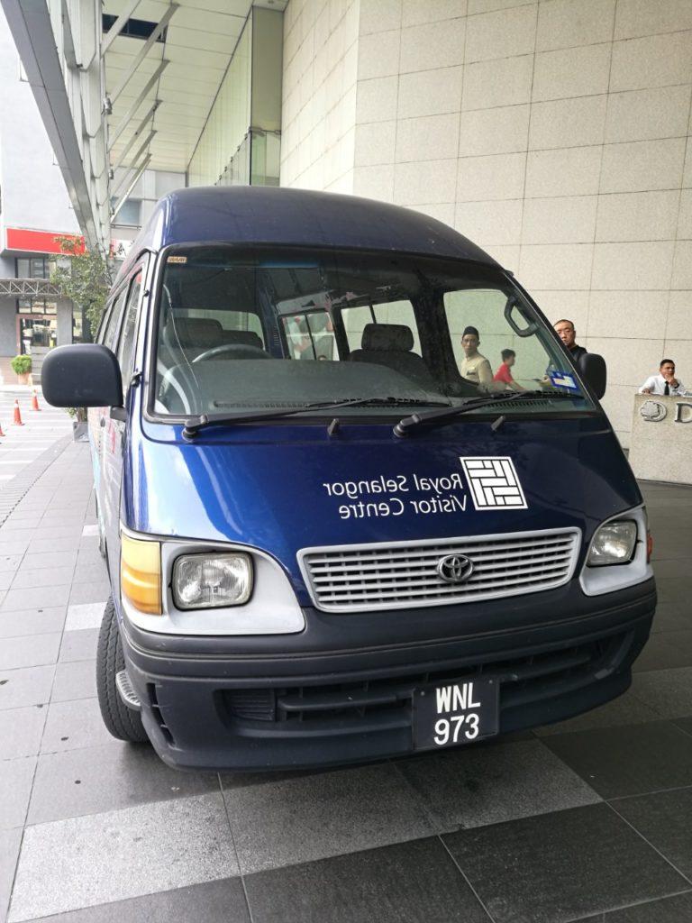ロイヤルセランゴール送迎バス1