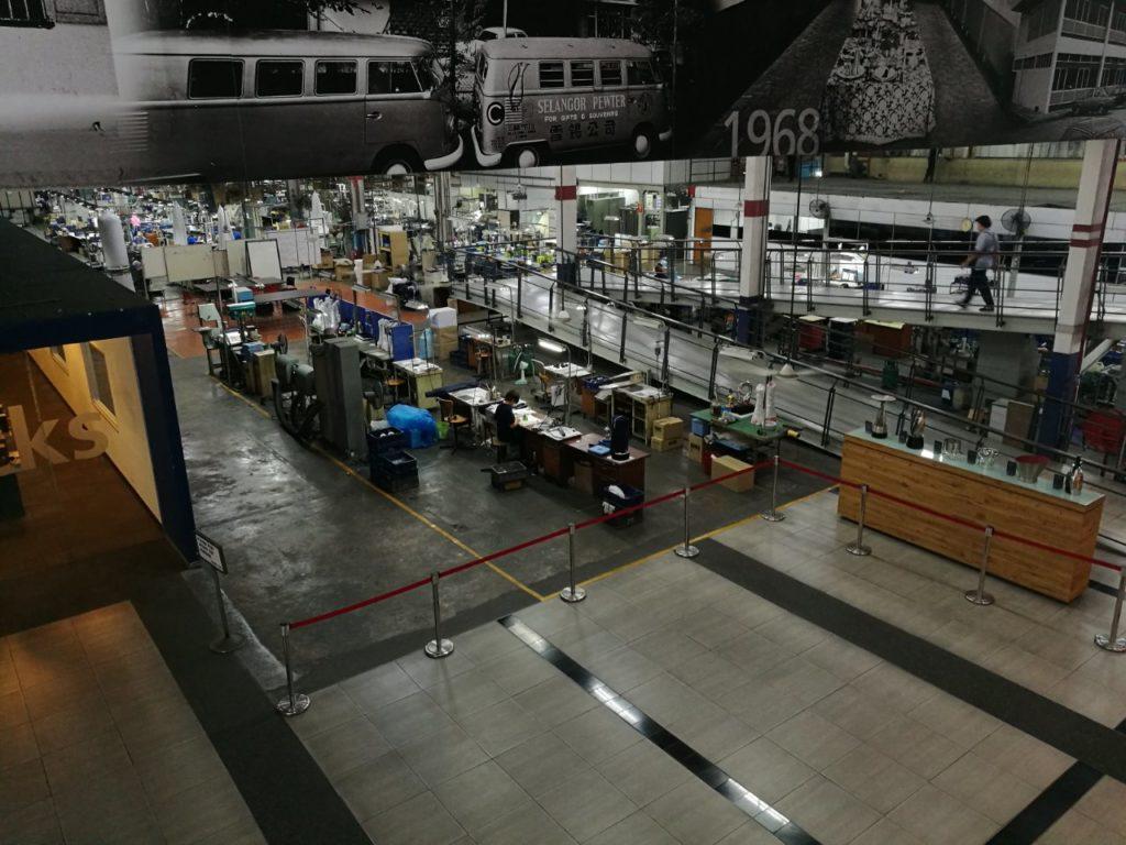 ロイヤルセランゴール工場見学6