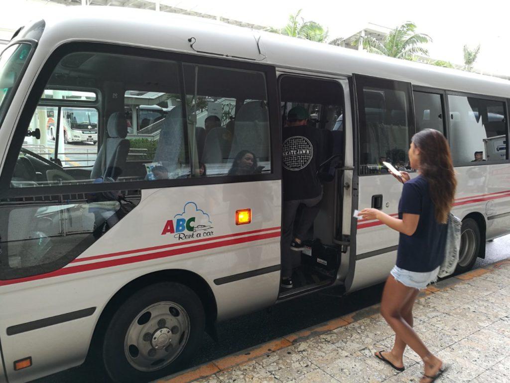 ABCレンタカー送迎バス