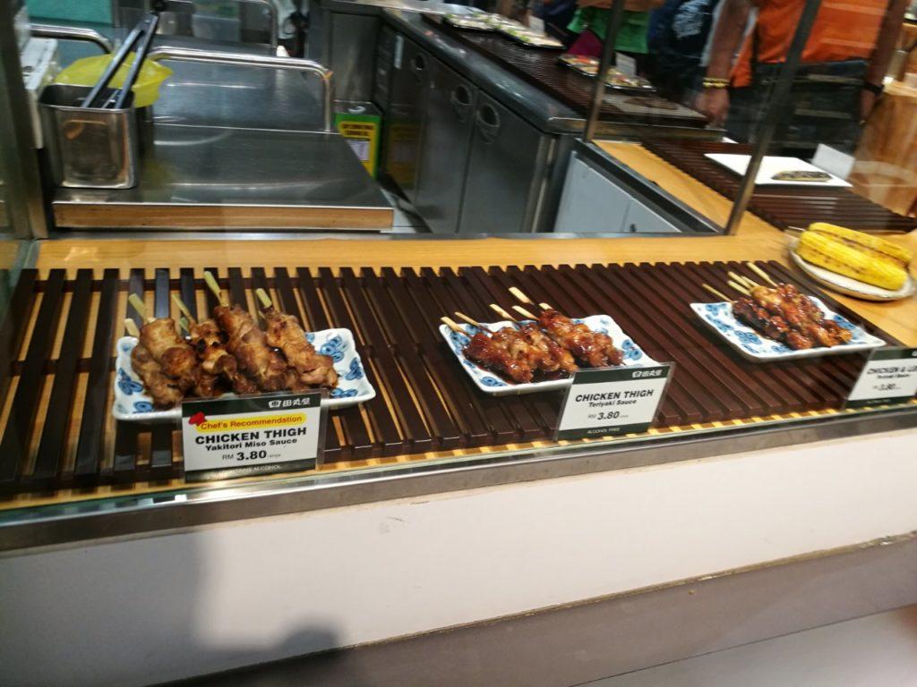 伊勢丹KLCC店日本食焼き鳥