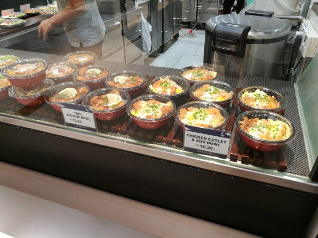 伊勢丹KLCC店日本食3