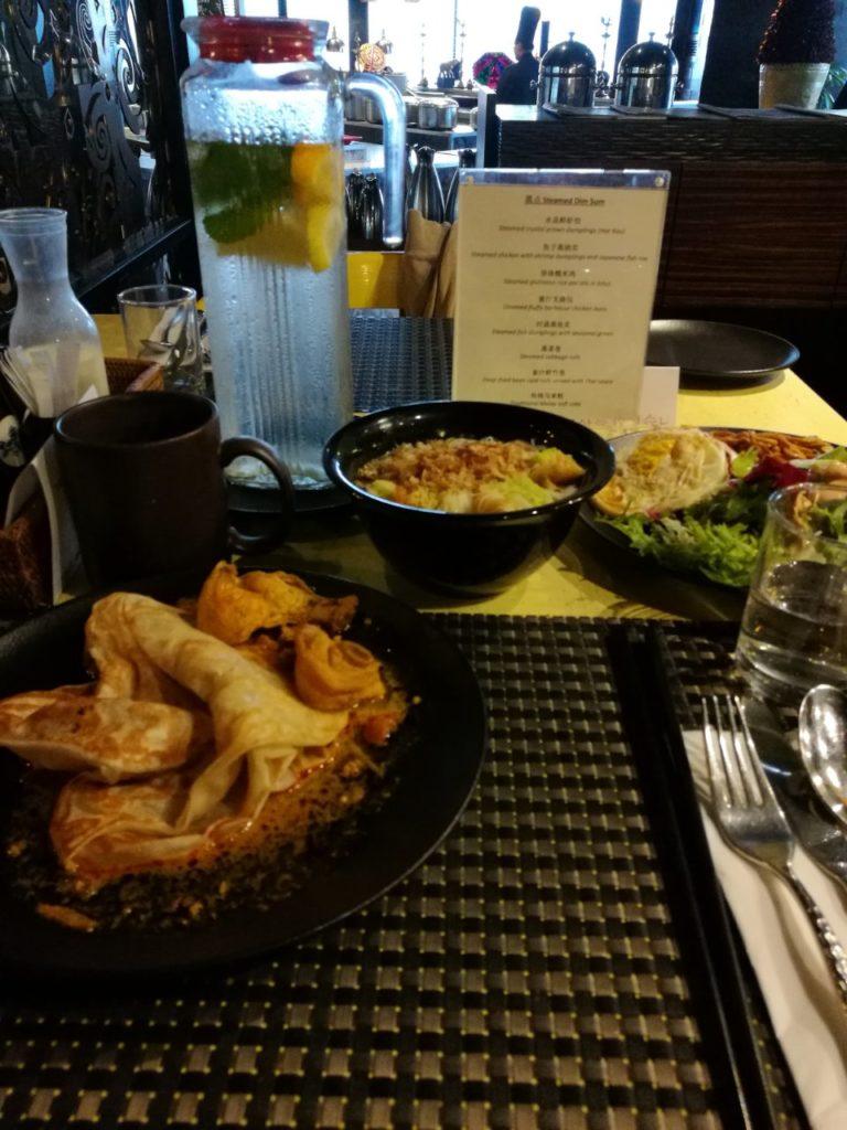 ダブルツリーバイヒルトン クアラルンプール 朝食