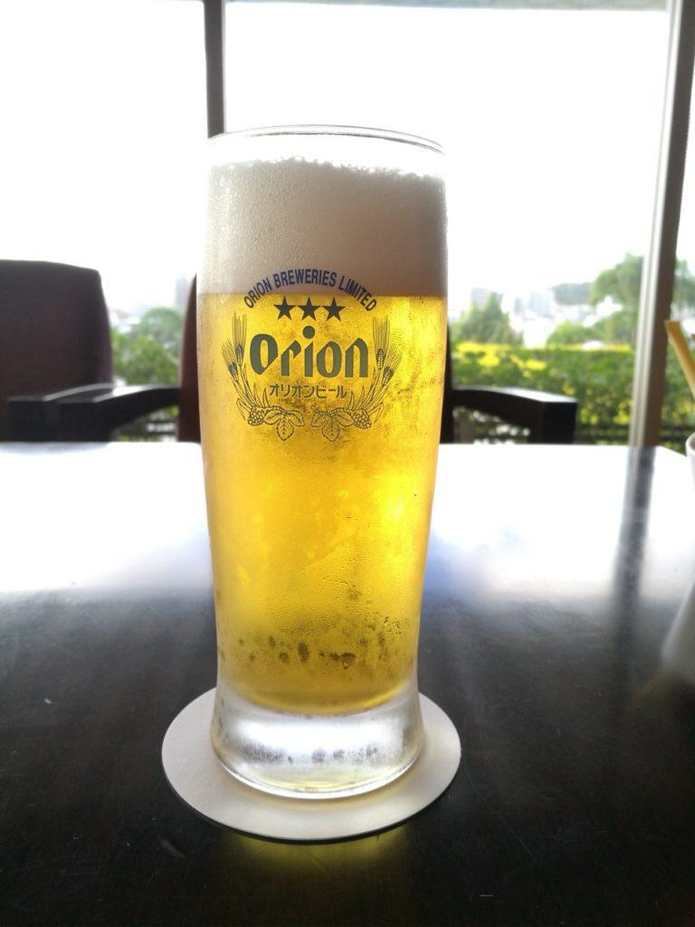ダブルツリー那覇首里城最後のビール