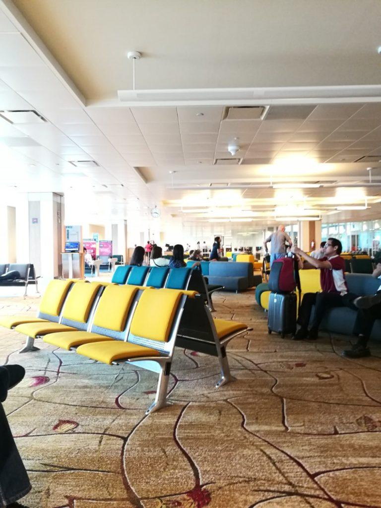 シンガポールチャンギ国際空港搭乗口1