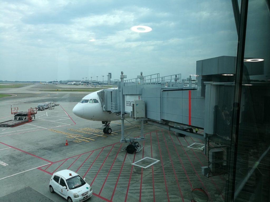 チャンギ空港シンガポール航空機材