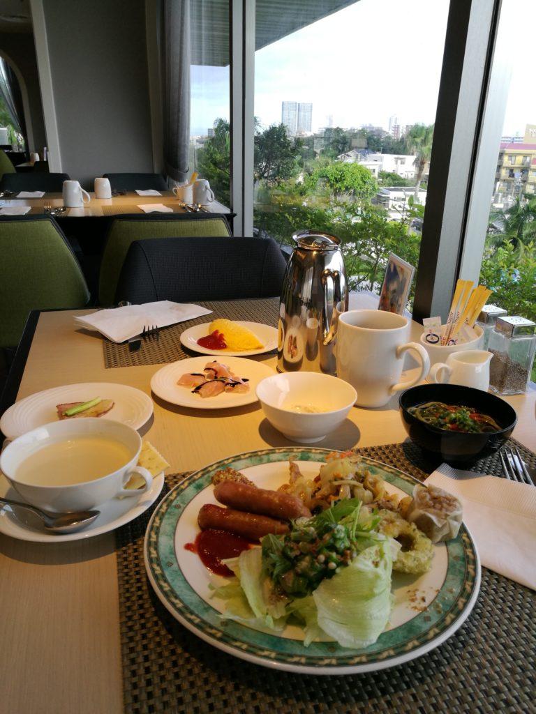 ダブルツリー那覇首里城朝食