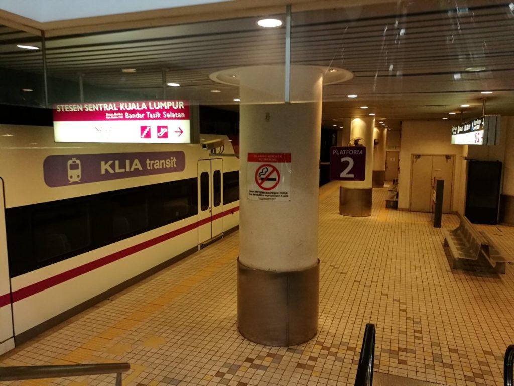 早朝深夜のKLセントラル駅4