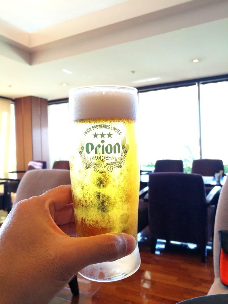 ダブルツリー那覇首里城ビール