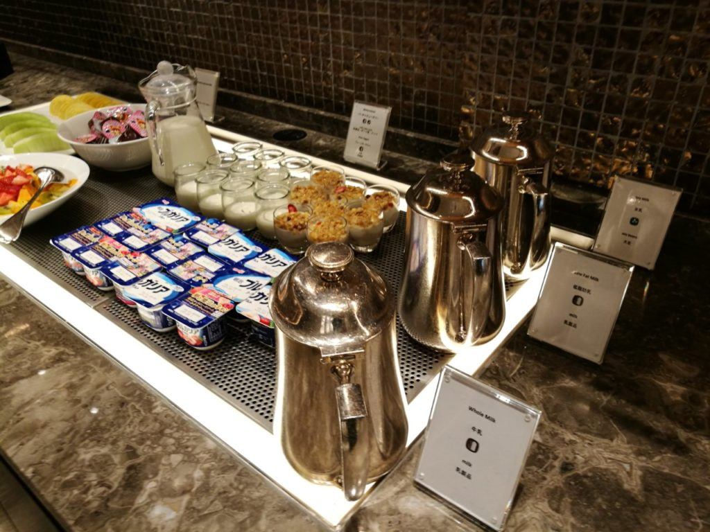 ヒルトン東京ベイセレブリオラウンジ朝食
