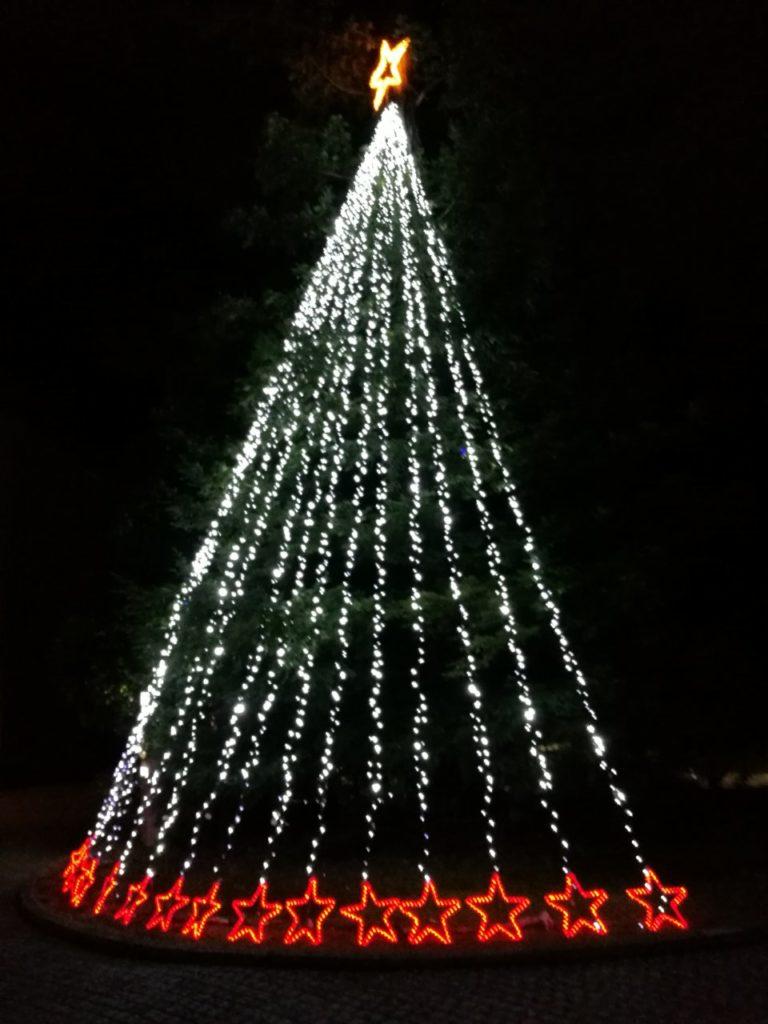 ヒルトン成田クリスマスイルミネーション1