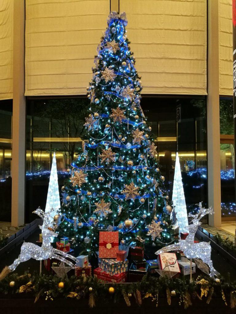 ヒルトン成田クリスマスイルミネーション3
