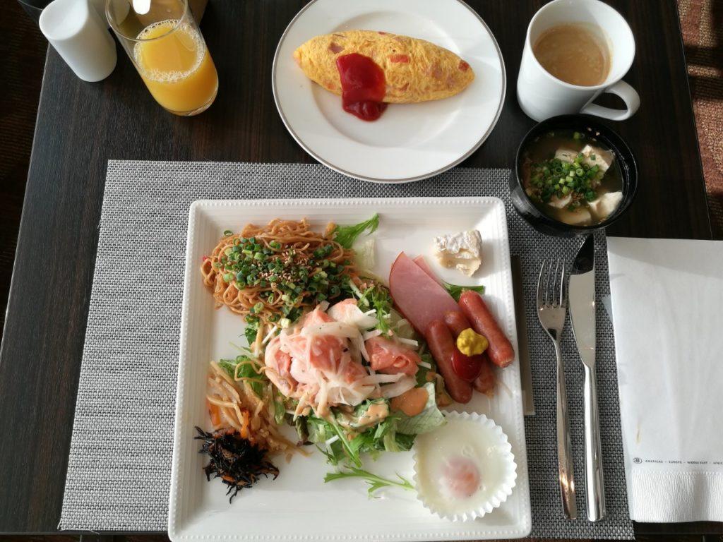 ヒルトン成田朝食