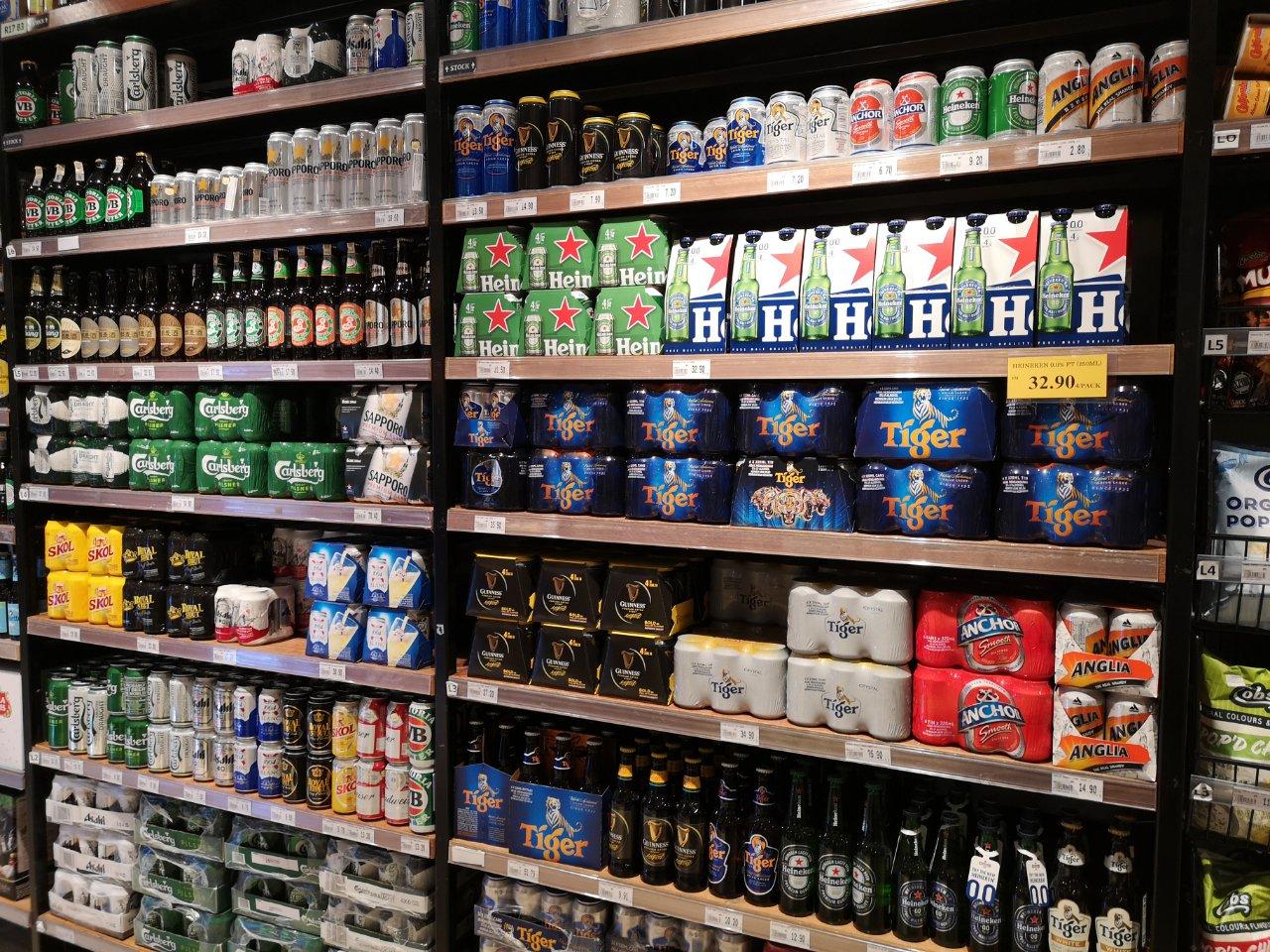 ビール販売