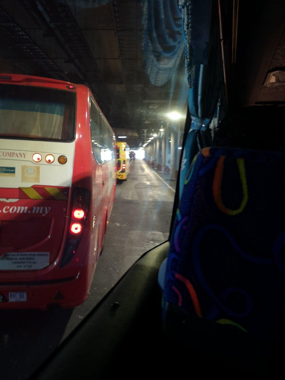KLセントラル駅からバスでクアラルンプール国際空港にバスで移動する方法10