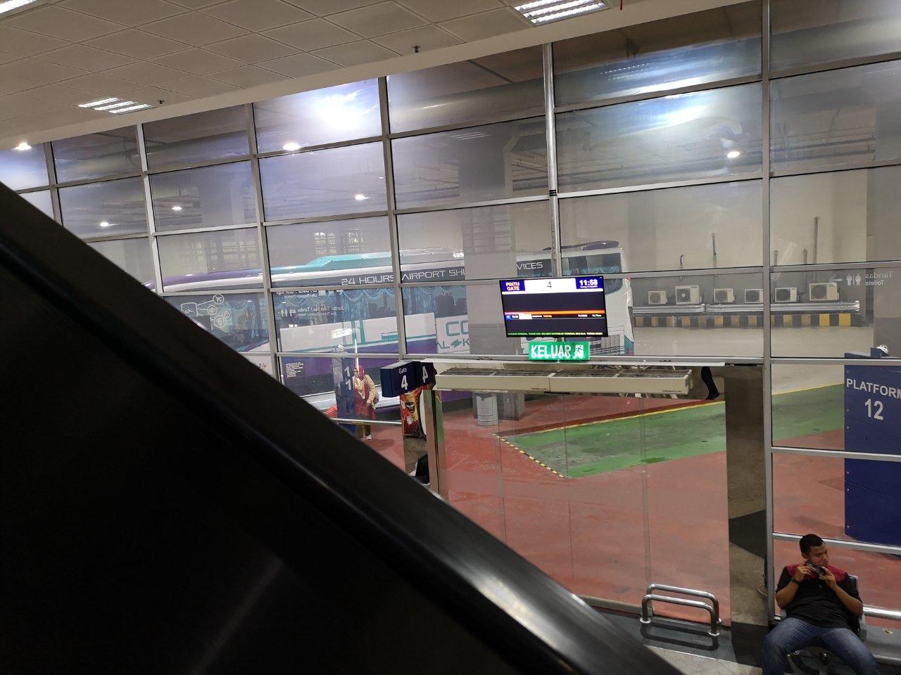 KLセントラル駅からバスでクアラルンプール国際空港にバスで移動する方法19