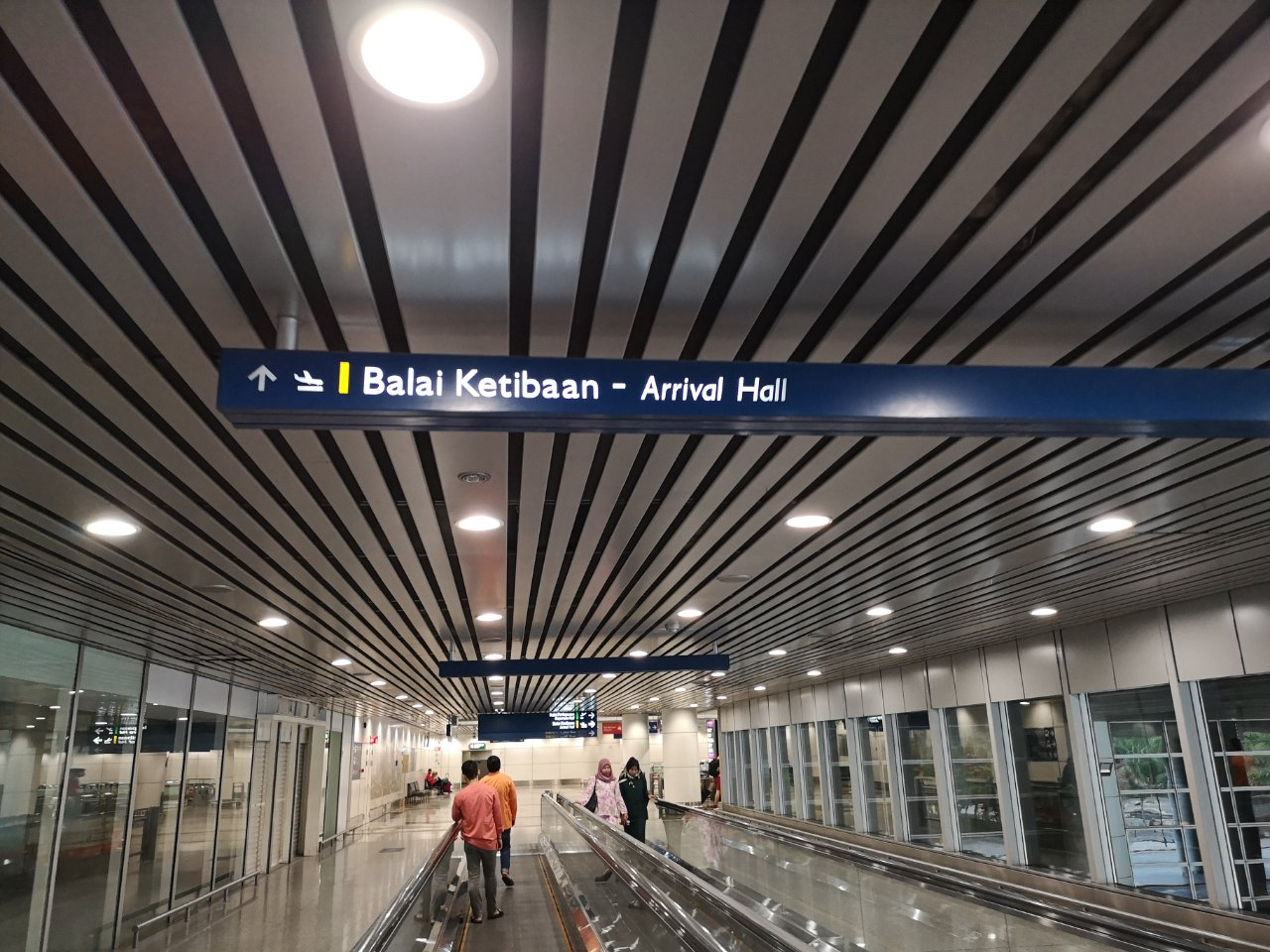 KLセントラル駅からバスでクアラルンプール国際空港にバスで移動する方法24