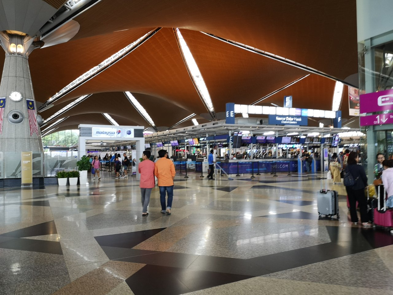 KLセントラル駅からバスでクアラルンプール国際空港にバスで移動する方法35
