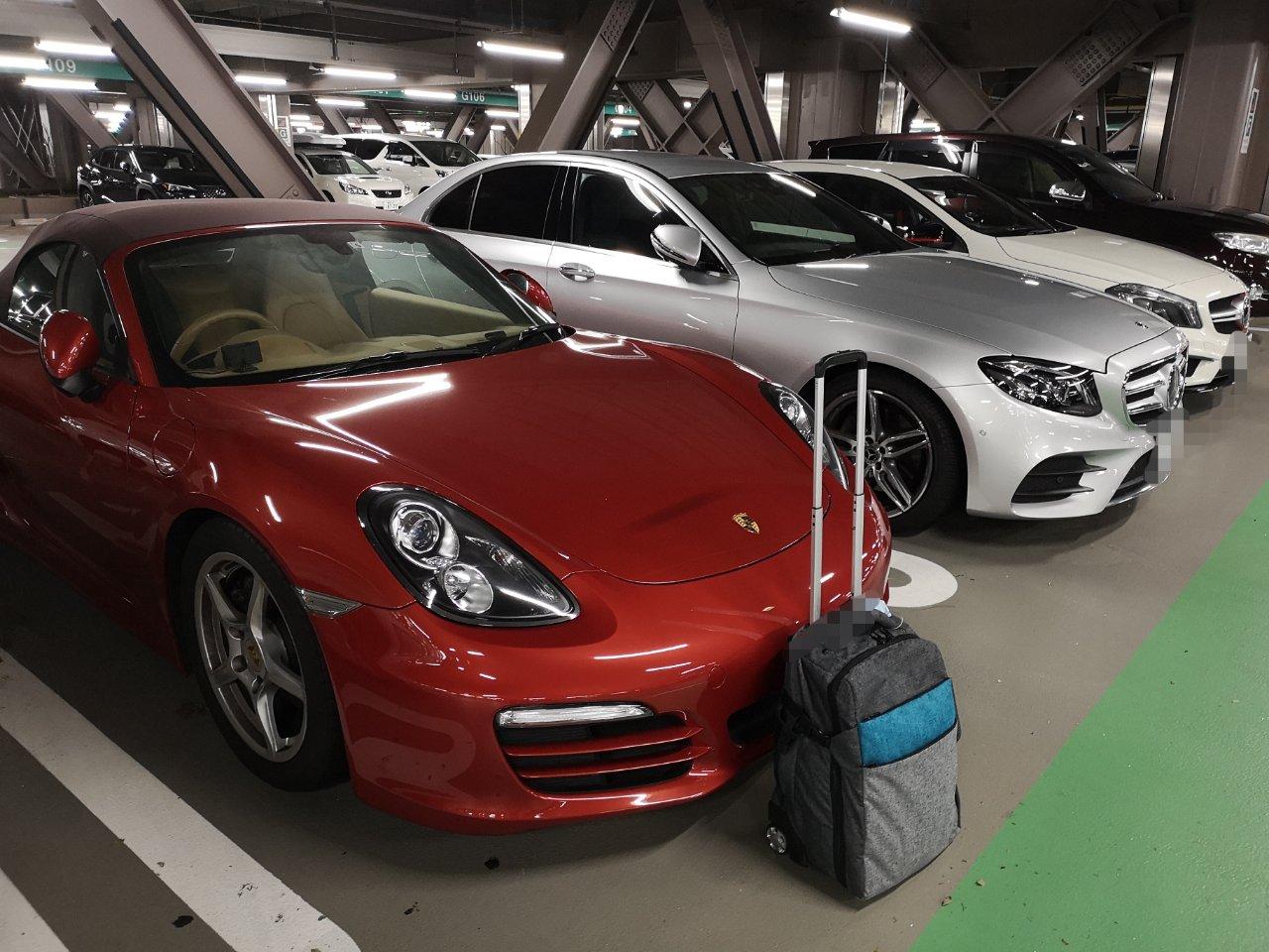 台風時羽田立体駐車場利用