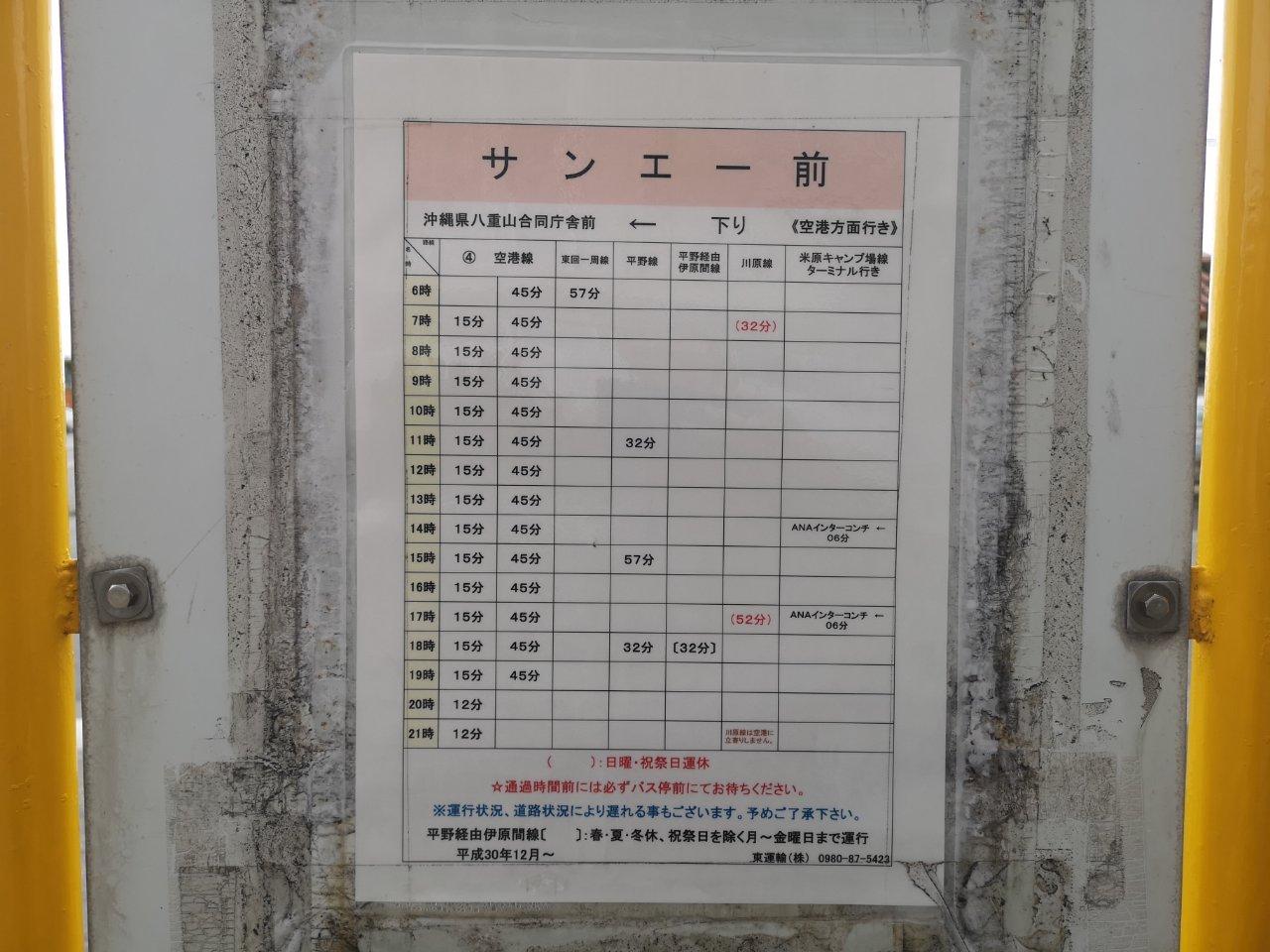 羽田石垣日帰りタッチ24