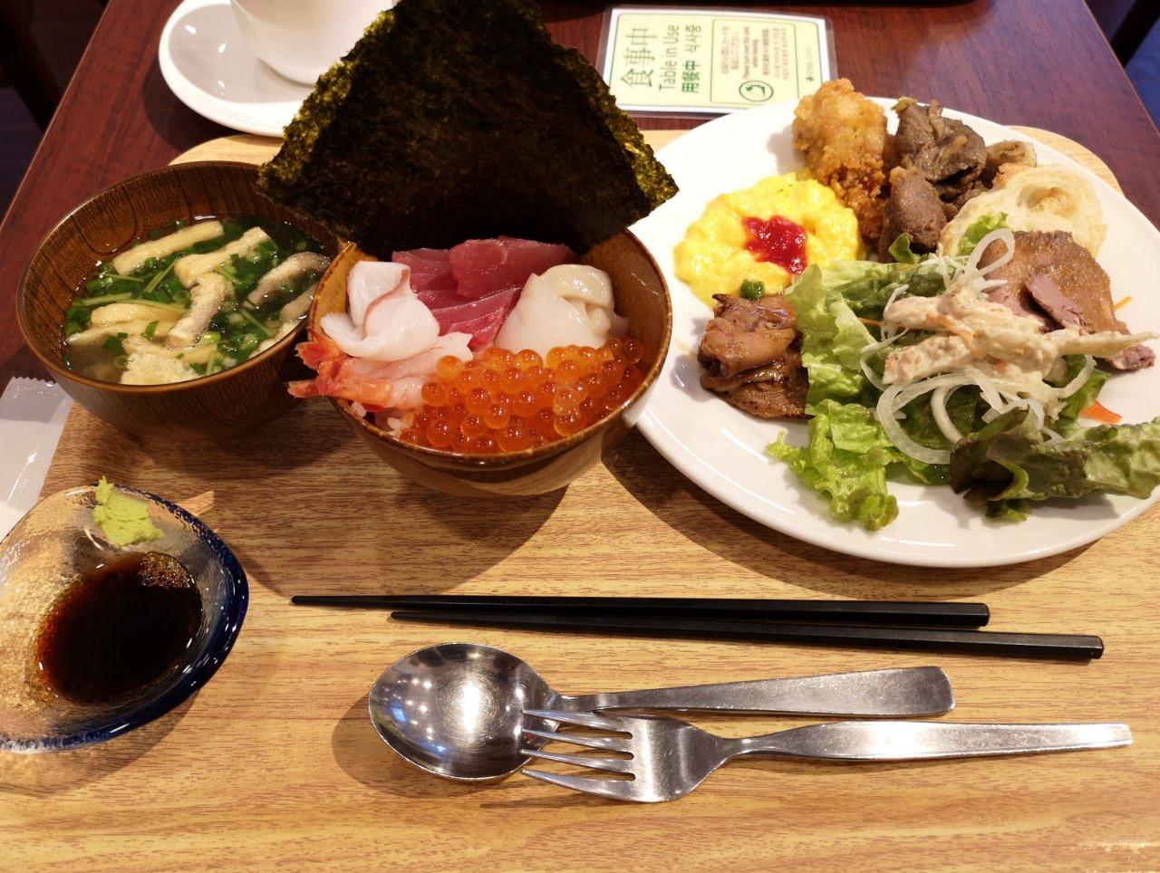 ベッセルイン札幌中島公園朝食1