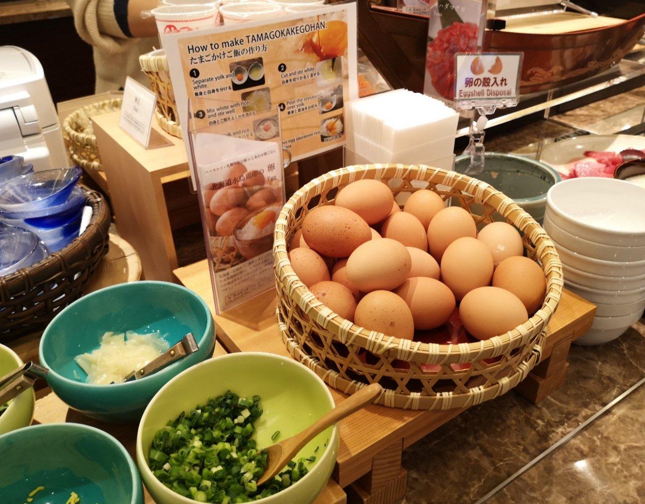 ベッセルイン札幌中島公園朝食8