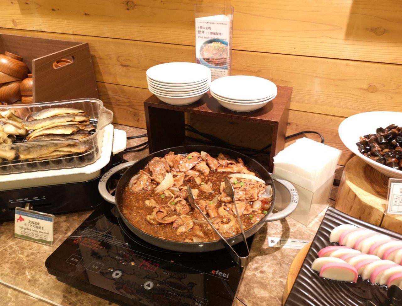 ベッセルイン札幌中島公園朝食40