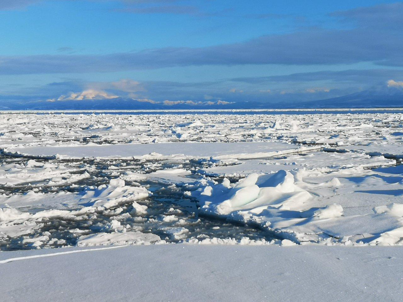流氷観察2